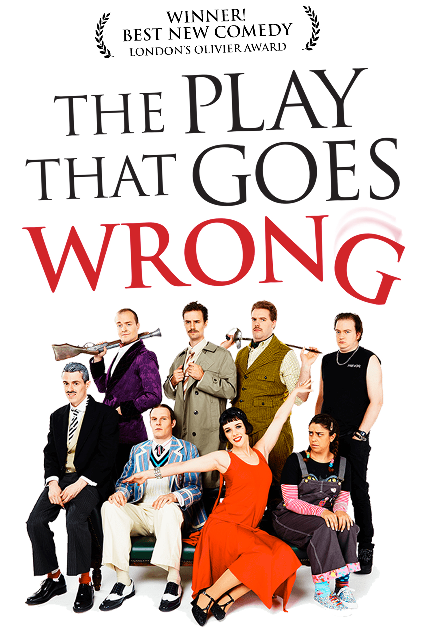 the play that goes wrong lyceum