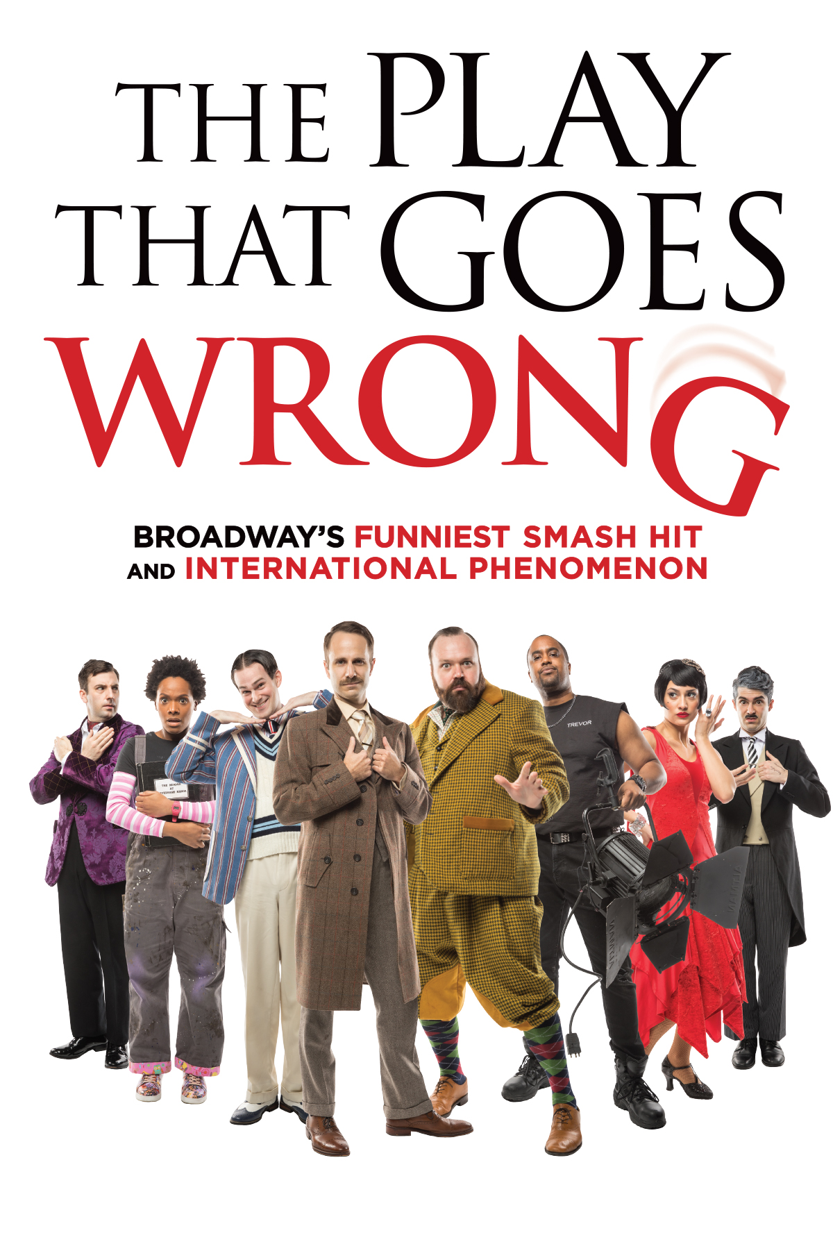The Play That Goes Wrong | Official Site